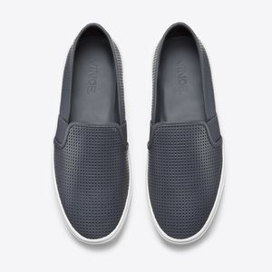 Vince Blair 5 Perforated Slip on Leather Sneaker